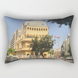 Tel Aviv Pagoda House - Israel Rectangular Pillow