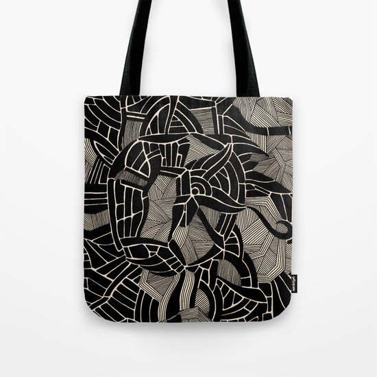 - cosmophobic cow - Tote Bag