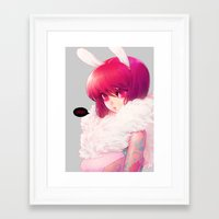 barachan Framed Art Prints featuring synthetic by barachan