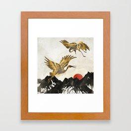 Elegant Flight II Framed Art Print
