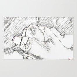 Hand Love Rug