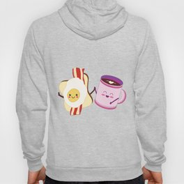 BFF Fun Eggs & Coffee with Bacon & Toast Hoody
