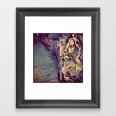 My guardian spirit Framed Art Print