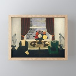 Victorian Interior I by Horace Pippin, 1945 Framed Mini Art Print