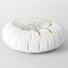 donut loves holidays Floor Pillow
