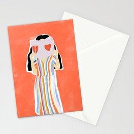 Broken Heart Stationery Cards