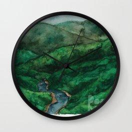 Rogue River Oregon landscape Wall Clock