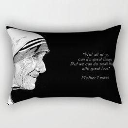 Mother Teresa Rectangular Pillow