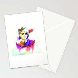 May Death Never Stop You Stationery Cards