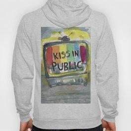 kiss in public Hoody