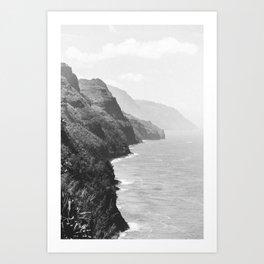 SUMMER COAST / Kauai, Hawaii Art Print