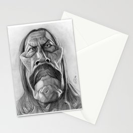Danny Trejo, caricature. Stationery Cards