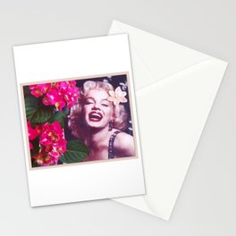 Hydrangea Girl Stationery Cards