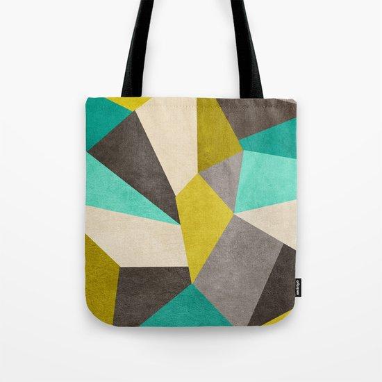 Polygons Tote Bag