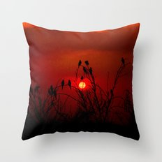 When it's all over Throw Pillow