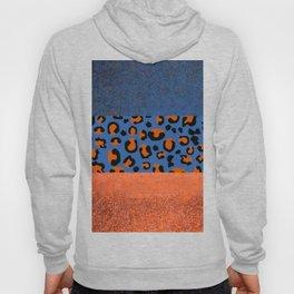 Urban Jungle - Leopard Pattern Blue Hoody