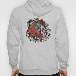 Roses, Skulls and Butterflies Hoody