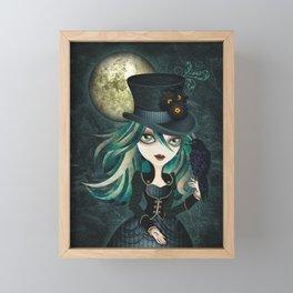 Raven's Moon Framed Mini Art Print
