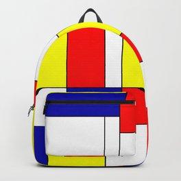 Mondrian #37 Backpack