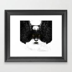 Golden Eyes Framed Art Print
