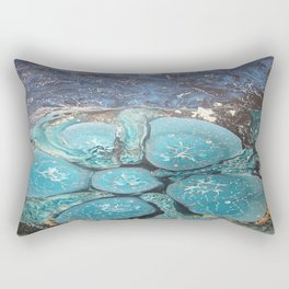 """Ocean"" Rectangular Pillow"