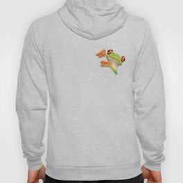 Little Red Eyed Tree Frog Hoody
