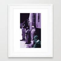 arab Framed Art Prints featuring Arab World by Sergio Silva Santos