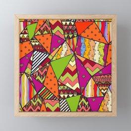 African Style No14, Tribal dance Framed Mini Art Print