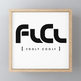 FLCL - Fooly Cooly Framed Mini Art Print