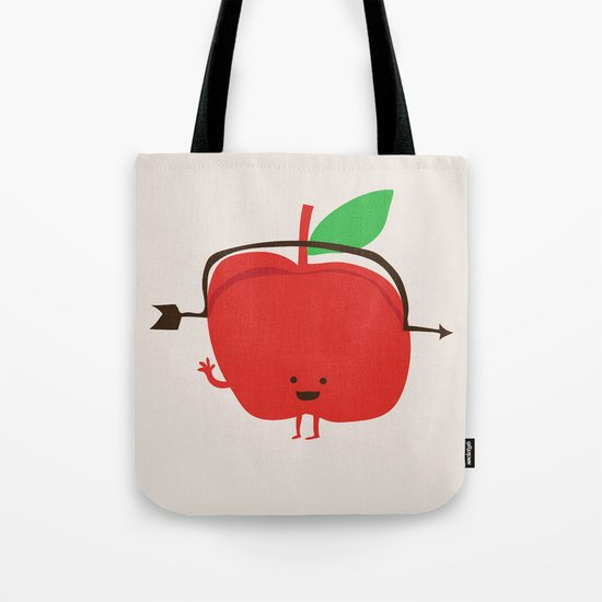 The Apple and The Arrow Tote Bag