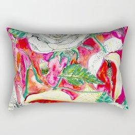 Memories, Petals and Blooms Rectangular Pillow