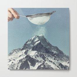 Sifted Summit Metal Print