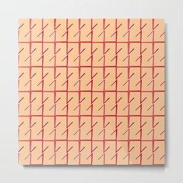 Antic pattern 12- from LBK ceramic colors Metal Print