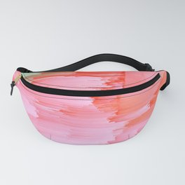 Romance Glitch - Pink & Living coral Fanny Pack