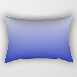 Ombré Zaffre Blue Rectangular Pillow