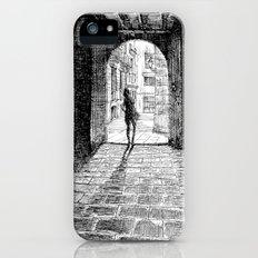 Light - Black ink Slim Case iPhone (5, 5s)