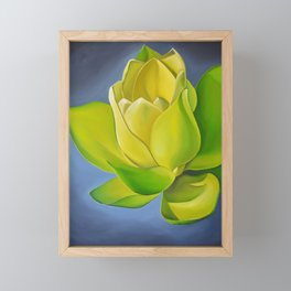 Blooming Lotus Framed Mini Art Print