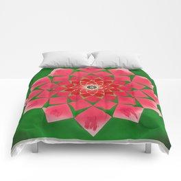 Spiral Rose Comforters