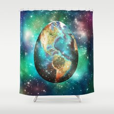 Somewhere in the Universe... Shower Curtain