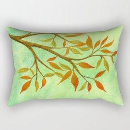 A Branch of Autumn Rectangular Pillow