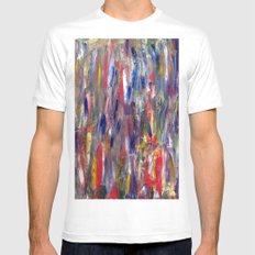 The Bathe MEDIUM White Mens Fitted Tee