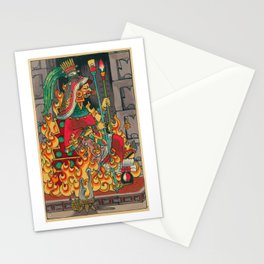 Queen of Staffs Chantico Stationery Cards