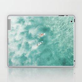 Surfing in the Ocean Laptop & iPad Skin
