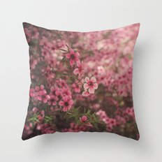 Pink Perfection Throw Pillow