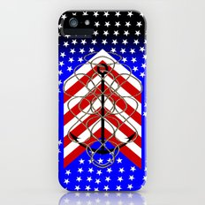 American Anchor, & Water Stars Slim Case iPhone (5, 5s)