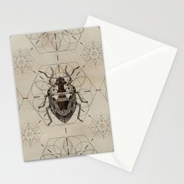 Sacred Geometry Soldier Bug Stationery Cards