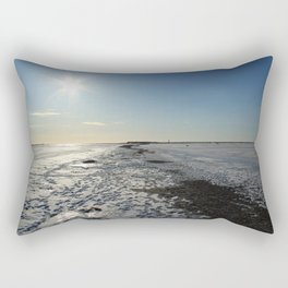 Frozen Sea in a Cold Winter Day Rectangular Pillow