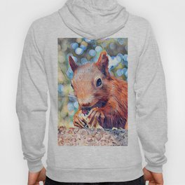 Aquarell Squirrel Hoody