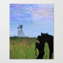 Always That One Horse Canvas Print