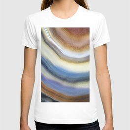 Colorful layered agate 2075 T-shirt